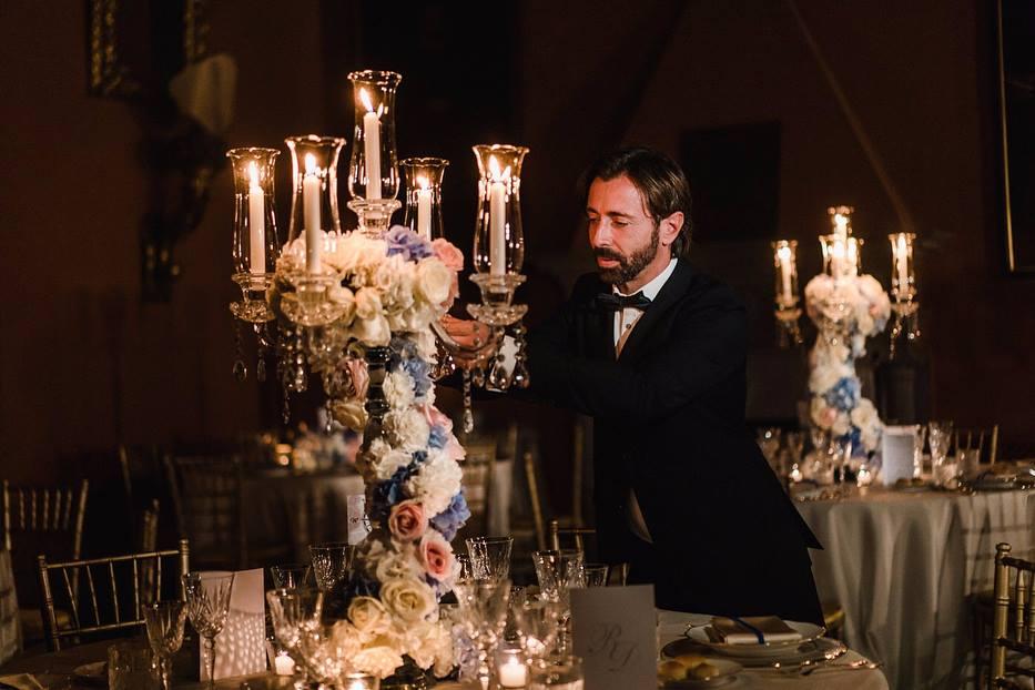 Giovanni Raspante Wedding Floral Designer Roma